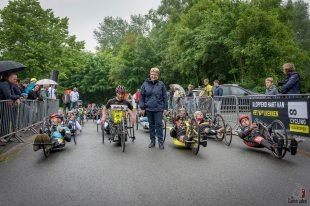 Boonwijk start handbikers